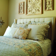 Beach Style Bedroom by Corynne Pless