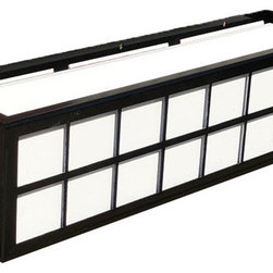 """Springfield Window Boxes - Our Springfield is a clean line contemporary look that goes well with many homes with its perfect simplicity. Our Wrought Iron Window Boxes can be installed on any surface with the use of standard lag screws (sold separately). Follow our """"how to install window boxes"""" tips for safe and secure installation. Detailed instructions come included with the box."""