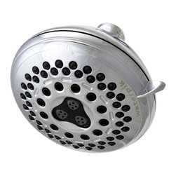 "Waterpik - Waterpik Medallion Chrome 7 Setting Showerhead IDC-733 - Waterpik ""Medallion"" 7 Spray Settings Showerhead."