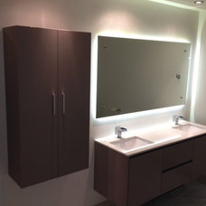 Contemporary Bathroom Mirrors by Siema Kitchen and Bath