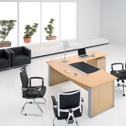 Bieya C large executive desk -