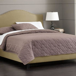 Skyline Furniture - 51 in. Foam Padded Bed w Adjustable Legs in S - Choose Size: KingIncludes nail buttons. Adjustable legs. Plush foam padding. 100% polyester. Attaches to standard bed frames. Made in USA. Assembly required. Twin: 78 in. L x 41 in. W x 51 in. H (83 lbs.). Full: 78 in. L x 56 in. W x 51 in. H (83 lbs.). Queen: 83 in. L x 62 in. W x 51 in. H (100 lbs.). King: 83 in. L x 78 in. W x 51 in. H (117 lbs.). Cal king: 87 in. L x 74 in. W x 51 in. H (113 lbs.)