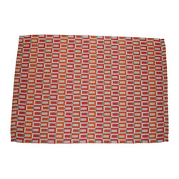 "Grey House Linens - The Amanda Collection Patterned Placemat - Placemats measure 14"" x 20""."