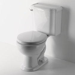 Bristol Two Piece Round Watercloset - Toliets don't have to be boring, I actually prefer a historical toliet to a more modern design in general, I also can't believe that I get excited about a toliet design...