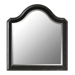 Stanley Continental Bedroom Landscape Mirror Ebony 128 83