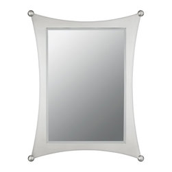 Quoizel - Quoizel Jasper Mirror - 24.5W x 32H in. - JA43225BN - Shop for Mirrors from Hayneedle.com! About Quoizel LightingLocated in Charleston South Carolina Quoizel Lighting has been designing timeless lighting fixtures and home accessories since 1930. They offer a distinctive line of over 1 000 styles including chandeliers lamps and hanging pendants. Quoizel Lighting is the perfect way to add an inviting atmosphere to any area in your home both indoors and out.