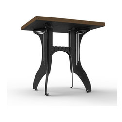 Titus Bistro Table by Pekota Design - Features: