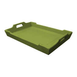 Trade Winds - New Trade Winds Breakfast Tray Green Painted - Product Details