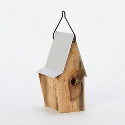 Cottage Birdhouse - No backyard oasis is complete without a bird feeder.