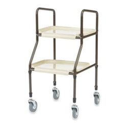 Drive Medical - Drive Medical Handy Utility Trolley - This lightweight utility trolley from Drive Medical is made of sturdy and durable steel construction and designed to help easily transport personal items.