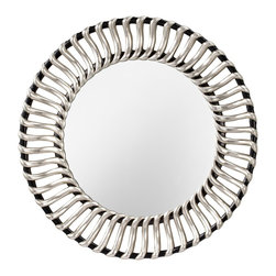 Murray Feiss - Murray Feiss Cosmo Contemporary Round Mirror X-VS/KB5411RM - Murray Feiss Cosmo Contemporary Round Mirror X-VS/KB5411RM