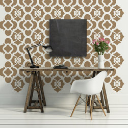 "Wall Decals - THIS SET INCLUDES (3) PANELS THAT EACH MEASURE APPROX. 18"" X 71""."
