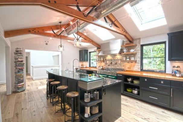 Contemporary Kitchen by Twelve Stones Designs