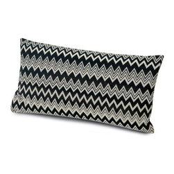 Missoni Home - Missoni Home | Orvault Pillow 12x24 - Design by Rosita Missoni, 2013.