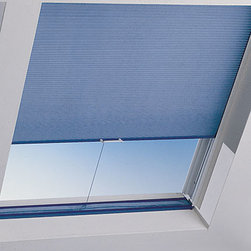Cellular Shades - Skylight cellular shades aid in both light and heat control for those hard to reach windows
