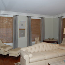 Modern Roman Shades by Shades IN Place