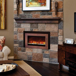 Fireplace Xtrordinair by Travis Industries - FPX 38EI Electric Insert - WATCH ME BURN! https://vimeo.com/72931243