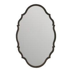 Hooker Furniture - Hooker Furniture Corsica Metal Mirror 5480-90008 - Add a touch of beauty to any room with this Corsica metal mirror. Like the Mediterranean island for which its named, Corsica is a melting pot of timeless design influences with a sun washed ambience and a casual attitude.