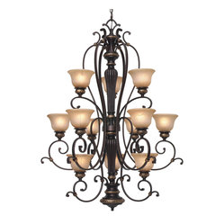 Jefferson 3-Tier Chandelier