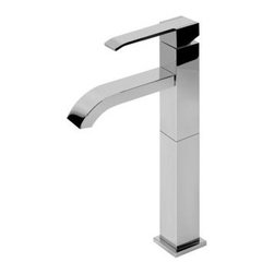 Graff - Graff - Qubic Vessel Lavatory Faucet - G-6206-LM38M-OB - Qubic Collection