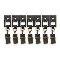 Beme International Llc - erod Motorized Drapery Rod Clips - These clips are for adding extra panels to the erod Motorized Drapery Rod. Perfect for large windows and dramatic window designs.