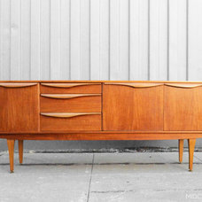 modern buffets and sideboards by Mid Century Mobler