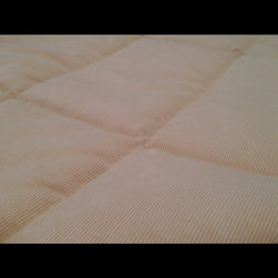 OT Blankets - Weighted Blanket, 12lbs. - Get a better nights rest with our weighted blankets. Used to calm the sensory system, weighted blankets produce what's called DPTS, or deep pressure touch stimulation. Adults, teens, and children can benefit from weighted blanket therapy. DPTS works in the same way as a full-body massage.