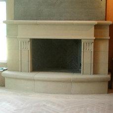 Indoor Fireplaces by North Shore Architectural Stone