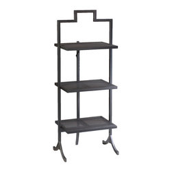 French Heritage - FOLD-Table Large Rectangular Gun Metal Finish with Perforated Trays - Have you ever needed just two or three more shelves for storage or just the perfect little piece beside a chair? FOLD-Tables comes in an array of styles, colors, and sizes. These exciting little tables are practical, versatile and can fold away if desired. Whether your style is contemporary, romantic or industrial, everyone can use a FOLD-Tables. - Weight: 14lbs