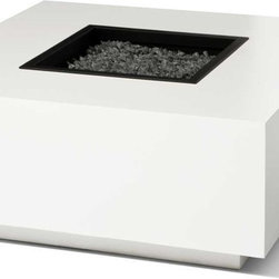 Fire Pits - Gas Burning - The Ore 4015 Block Gas Burning Fire Pit brings form to functionality.  The beautiful piece of art will help extend your entertaining into the evening hours for your outdoor enjoyment.