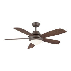 "Fanimation - Fanimation Celano 54"" 5 Blade Ceiling Fan - Blades, Light Kit, and Remote Contro - Included Components:"