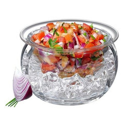 Prodyne - Prodyne Dips On Ice With Acrylic Upper Dip Bowl Nests - Ab64
