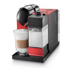 DeLonghi Nespresso - DeLonghi Nespresso Lattissima Plus EN520B, Red - Overview