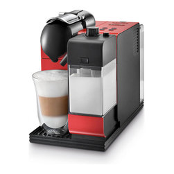 DeLonghi Nespresso - DeLonghi Nespresso Lattissima Plus EN520B, Red - Overview