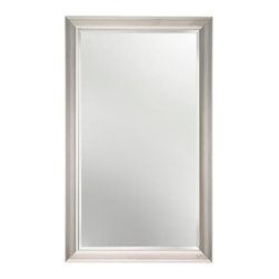 Alno Inc. - Contemporary Cabinet Mirror (ALNMC40244-SN) - Contemporary Cabinet Mirror