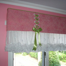 Eclectic Kids Decor by Window and Fabric Works