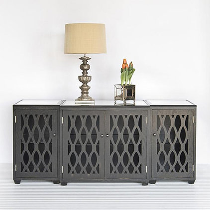traditional media storage by Candelabra