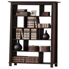 Transitional Bookcases by Baxton Studio