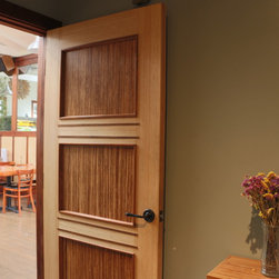 Shine Cafe - American-Made Custom Bamboo Doors! Designer Stile and Rail.