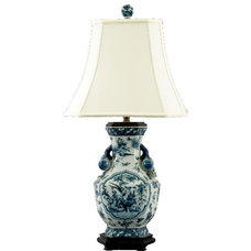 Asian Table Lamps by Shan Hill Design