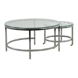 Astrid Round Cocktail Table - Living Spaces