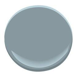 Van Courtland Blue HC-145 Paint - This is a great deep beachy blue paint tone.