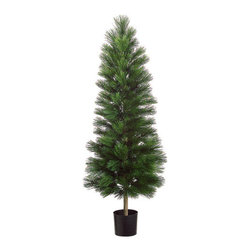 Silk Plants Direct - Silk Plants Direct Long Needle Pine Tree (Pack of 2) - Silk Plants Direct specializes in manufacturing, design and supply of the most life-like, premium quality artificial plants, trees, flowers, arrangements, topiaries and containers for home, office and commercial use. Our Long Needle Pine Tree includes the following: