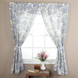 Ellis Curtain - Ellis Curtain Victoria Park Tailored Curtain Panel with Ties - One Pair - T675-6 - Shop for Curtains and Drapes from Hayneedle.com! About A.L. Ellis Inc.Established in 1920 by Arthur Linwood Ellis A.L. Ellis Inc. is a 5th generation family owned and operated manufacturing company. With their headquarters located less than an hour away from the manufacturing facility they can easily control the wholesale business and produce their mail order catalogs. Their hand-made products consist of curtains draperies top treatments bedding toss pillows and chair pads. The main objective for A.L. Ellis Inc. is to always provide customers with high-quality products at a competitive price and in a timely manner. Remaining committed to the customer A.L. Ellis Inc. is a trusted company you can count on. Begin decorating your house with any of their products!