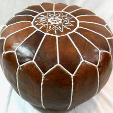 Mediterranean Footstools And Ottomans by Overstock.com