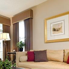 Traditional Window Treatments by Jennifer Austin-McGrath, Allied ASID