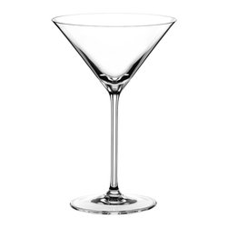 Riedel - Riedel Vinum XL Bar Martini - Enhance the cocktail hour at your place. Pour on a major martini in this amply sized lead-crystal glass — shaken or stirred, you've got style!