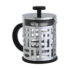 Bodum Eileen French Press Coffee Maker, Steel - The already attractive French press becomes even more so with this cutout metal overlay.