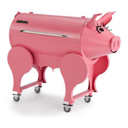 Lil' Pig Grill - Bacon, anyone? Oh, the irony! But we know from personal experience that it doesn't matter what you cook on a Traeger, it will taste like no other barbecue around.