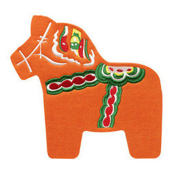 Sagaform - Sagaform Dala Horse Trivet - Bring history, and love into your home while not getting burned by hot pots! Here is one of the most traditional symbols of Sweden. Even though the horse came to Sweden around 4000 years ago, the Dala Horse as we know it today came alive in the 1600's. The horse and man have always lived together side by side, and throughout history the Swedish people have depended on this strong, helpful animal all year around. The men who worked in the forest started carving little wooden horses for their children and WHIPS, the Dala Horse was born. It later became painted with the colorful patterns we see on this wonderful trivet. Use it in your own kitchen or give it as a present to someone special - the beautiful history is sure to enlighten anyone's day!
